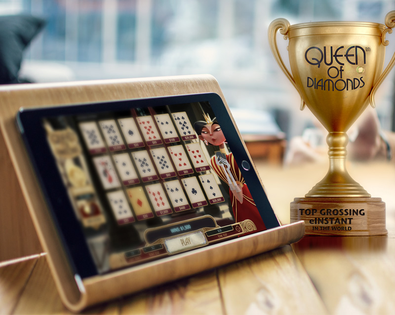 Did you know? NPi's Queen of Diamonds game is rank as the top grossing eInstant game in the world